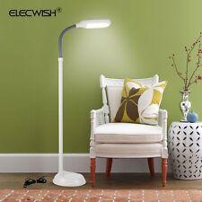 LED Floor Lamp Adjustable Full Spectrum Sunlight Reading Light Home Office White