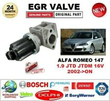 FOR ALFA ROMEO 147 1.9 JTD JTDM 16V 2002-> Electric EGR VALVE 2-PIN with GASKETS