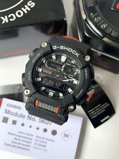 Casio G-Shock *GA900C-1A4 Anadigi Black and Orange Nylon Watch for Men