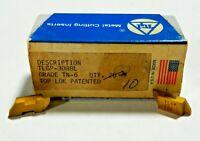 10 PCS TGI TLGP NGP 3088L TN6 Top Notch Grooving Carbide Inserts      797SO