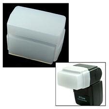 Diffuseur de Flash pour Nikon SB-600 Nissin Di466 Olympus FL36 Panasonic DMW FL