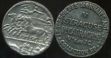 SYRACUSE  decadrachme    V  av JC    COLLECTION BP   ( bis )