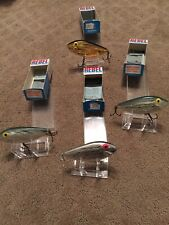 Lot Of 4 Vintage In Box Rebel Shad, Fishing Lures