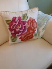 Decorator Pillow. Used For Show Only. Primary Colors are Rose/orange.See more.