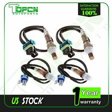 2*Upstream & 2*Downstream 02 O2 Oxygen Sensors for Silverado Sierra New X4pcs