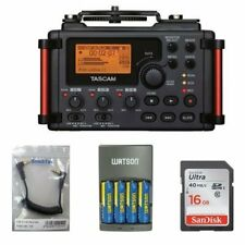 Tascam DR-60DmkII 4-Channel Portable Recorder for DSLR KIT