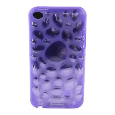 iSkin - Pebble - flexible slim-fitting cover - hülle - iPod touch 4 - twilight