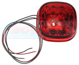 BRITAX 29389.00 LED REAR RED STOP/TAIL LIGHT MODULE UNIT 12v/24v JCB TELEHANDLER