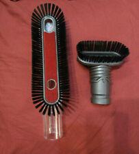 DYSON Soft Dusting Brush + Stiff bristle brush attachment dc77 dc66 V6 dc43 ball