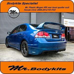 Mr. Mugen RR rear boot spoiler kits for Honda Civic sedan 06-12 FD / FD 2