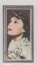 1936 Godfrey Phillips Stars of the Screen Tobacco Base #42 Luise Rainer Card 0iu