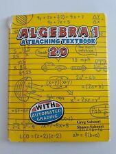 Algebra 1 A Teaching Textbook's (2.0) Self Grading CDs Only
