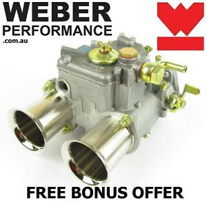 45 DCOE 152G WEBER CARBURETTOR - GENUINE - NOT POOR CHINESE