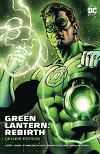 GREEN LANTERN REBIRTH DELUXE EDITION HARDCOVER Collects #1-6 Secret Files #1 HC
