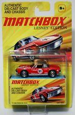 '71 VW-PORSCHE 914-6 * 2011 MATCHBOX LESNEY EDITION * RED VW PORSCHE 914 WHITE