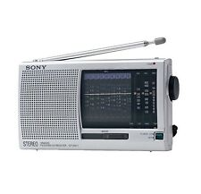 Sony ICF-SW 11/S Weltempfänger  Radio (UKW, MW, LW, KW ) silber