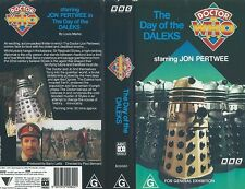 DR WHO - THE DAY OF THE DALEKS - JON PERTWEE - VIDEO PAL
