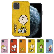 PEANUTS Words Snoopy Bumper Cover for iPhone 12 11 Pro XS Max mini XR SE 8 Case