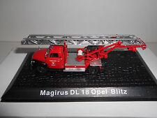 OPEL BLITZ MAGIRUS DL18 FIRE POMPIERS BOMBEROS DEAGOSTINI ATLAS 1:72