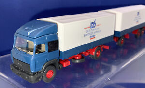 1:87 Wiking (27474] Iveco Truck And Trailer 125 Year Celebration Iveco Magirus