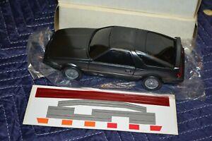 Vintage Dealer Promo Car 1980s PLYMOUTH LASER New w/ Stickers (ERTL?) RARE VHTF