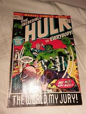 THE INCREDIBLE HULK #153 1972 MARVEL  SIGNED STAN LEE vg HERB TRIMPE COVER ART