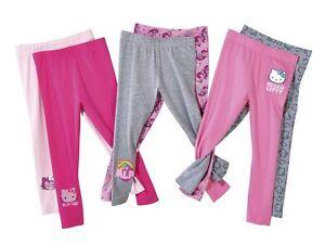 Girls leggings Hello Kitty My Little Pony 2 4 6 8 10 98 104 110 122 128 134 140