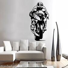 WILLIAM DUNLOP ROAD RACER decal graphic adhesive UNIQUE wall art IOMTT