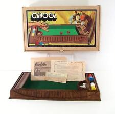 1972 CANOGA NO. 4002 CRAFTED PACIFIC GAME COMPANY PLEASANT TIME DICE CHIP BOARD