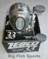 ZEBCO 33 PLATINUM Spincast Reel #33KPL FREE USA SHIPPING! 4.1:1 Gear Ratio NEW!