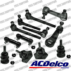 New Steering Kit Idler Pitman Tie Rod Ball Joints Chevy R10 C10 C1500 Fits 83-87
