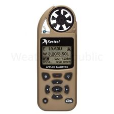 Kestrel Elite Meter w Applied Ballistics & Bluetooth LiNK -0857ALTAN -Desert Tan