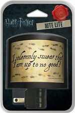 Harry Potter I Solemnly Swear I Am Up To No Good Night Light NEW UNUSED #70258