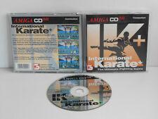 IK + International Karate für Commodore Amiga CD32