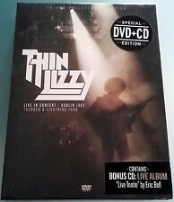 Thin Lizzy Live In Concert Dublin 1983 CD + DVD NTSC Collector 's Edition