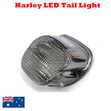 LED Smoke Tail Brake Light Harley softail sportster fatboy heritage night train