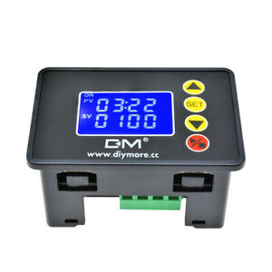 """1.37"""" AC110V~220V 10A LCD Display Time Controller Timing Delay Module 0000~9999S"""