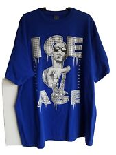 """Blue 2XL, (P-P 27/28"""") Give Me Face Brand T-shirt .With Front Picture and Logo."""