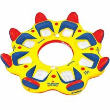 Overton's Colosseum Island 8-person floating raft boat ski tube boating NEW