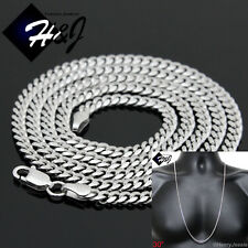 """30""""MEN 925 STERLING SILVER 2MM MIAMI CUBAN CURB LINK CHAIN NECKLACE*SN3"""