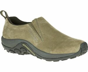 Merrell Men's Jungle Moc Slip-On Shoes, Dusty Olive, Size 12 (J71443)