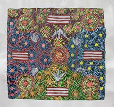 Aboriginal Art by Famous Artist Helen Rubuntja -50cmX46cm Women Dancing