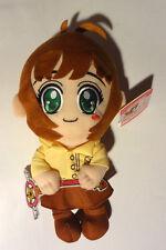 Card Captor Sakura 12'' Sakura With School Uniform And Wand Plush New With Tag!