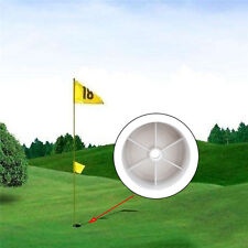 Practice Golf Hole Pole Cup Flag Stick Backyard Putting Training Green Cave Cup
