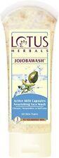 Lotus Herbals Jojobawash Active Milli Capsules Nourishing Face Wash, 120g