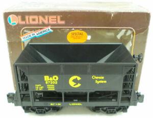 Lionel 8-87202 Baltimore & Ohio Ore Car LN/Box