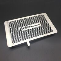 stainless Radiator Grill Grille Guard Cover Fit Suzuki V-Strom DL650 2013-2018