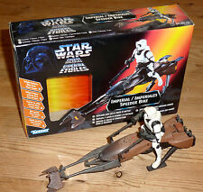 Star Wars Speeder Bike and Biker Scout Original Packaging