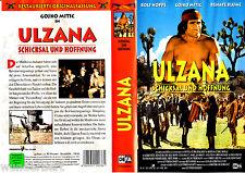 """VHS - """" ULZANA - Schicksal und Hoffnung """" (1974) - Gojko Mitic - DEFA"""