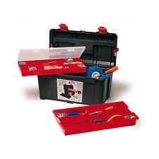 RAACO Toolbox Werkzeugkoffer Werkzeugkasten Werkzeugkiste 475x257x255mm PP-Kunst